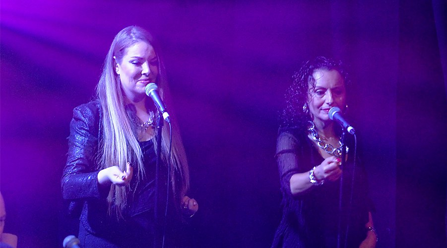 Lauren Grant & Maria Stone  -  BACKING VOCALS